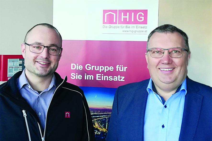 IBP GL Jürgen Stemer mit Wolfgang Huber